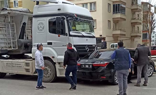 Osmancık Yolu'nda kaza
