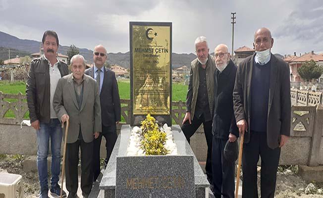 13 yıl aradan sonra mezarı yapıldı