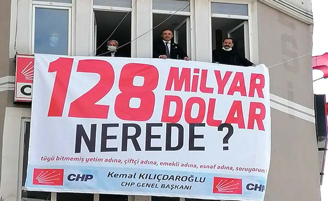 Çorum CHP bu afişi astı