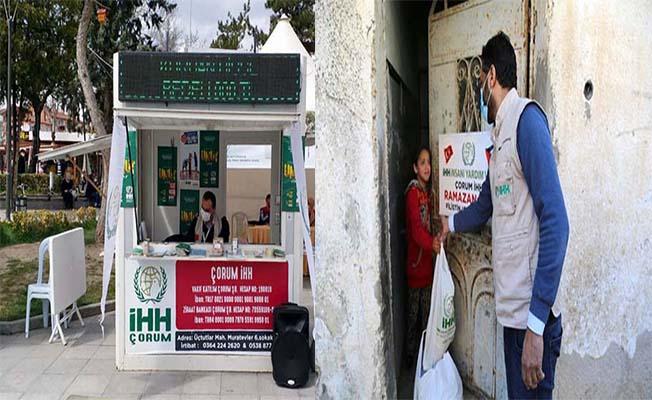 İHH Gazze'ye yardımları ulaştırdı, merkezde bağış standı açtı