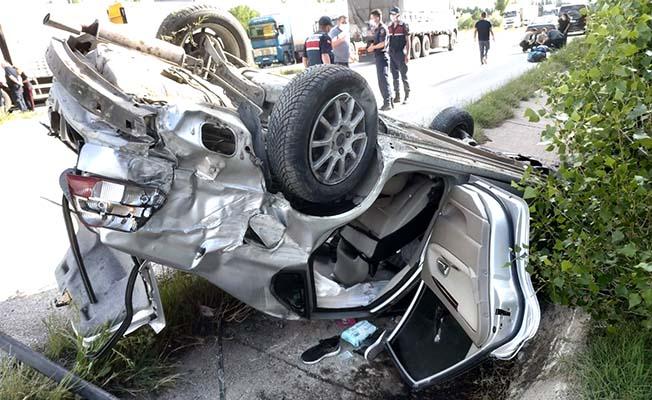 Aynı aileden 4 kişi yaralandı