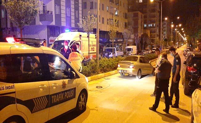 Bahabey Caddesi'nde kaza