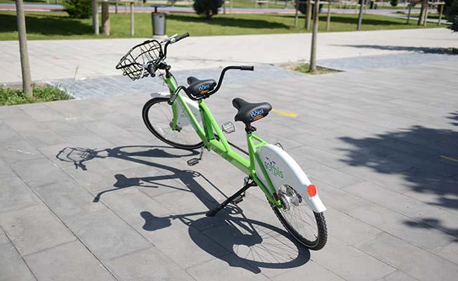 ÇORBİS'ten çift kişilik bisiklet