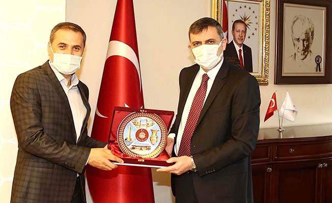 Erzurum'a atandı