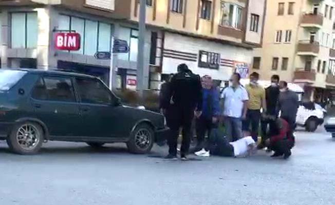 Osmancık Caddesi'nde kaza