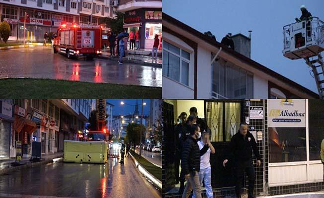Cengiz Topel Caddesi'nde haraketli dakikalar