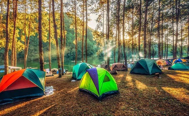 En az kamp alanı Çorum'da!