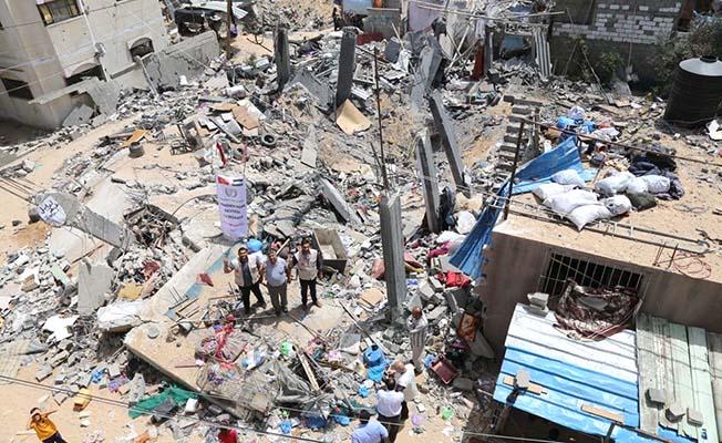 Gazze için hayır sofrası