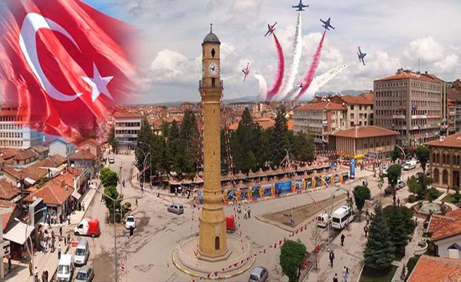 Türk Yıldızları Çorum semalarında