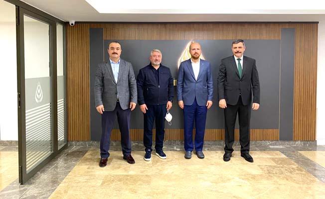 Vali paylaştı, Bilal Erdoğan ziyareti