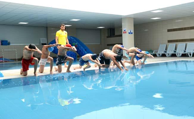 Yüzme kursları başlıyor