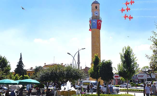 Türk Yıldızları Kadeş Meydanı'nda
