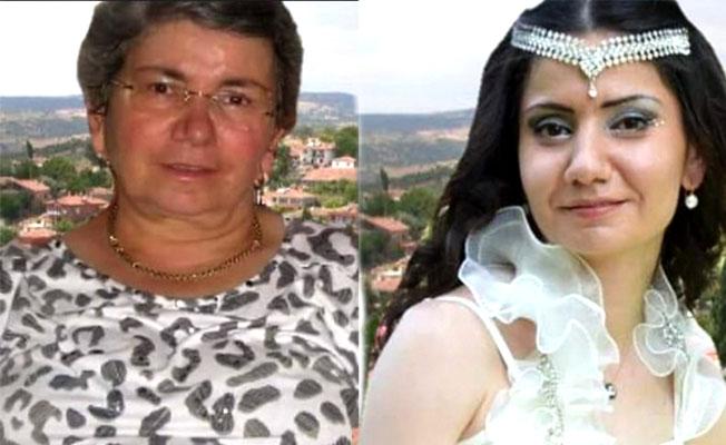 Anne ve kızı gözyaşları içinde toprağa verildi