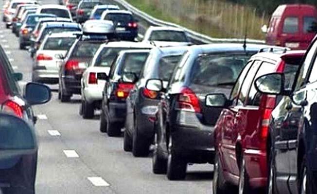 Çorum'da araç sayısı 179 bin 437