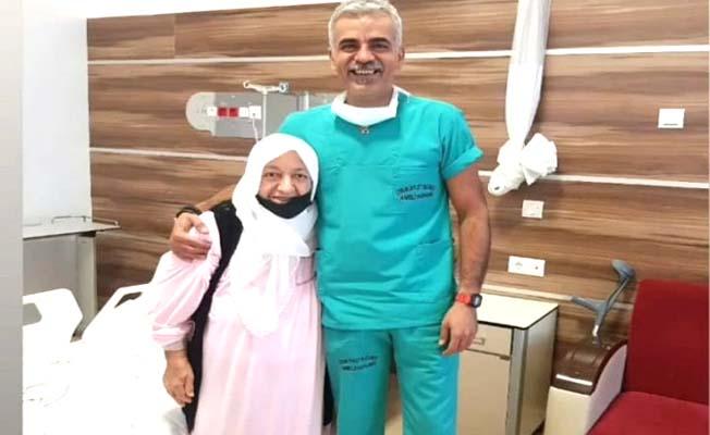 Doktorla hastası  arasında gülümseten diyalog