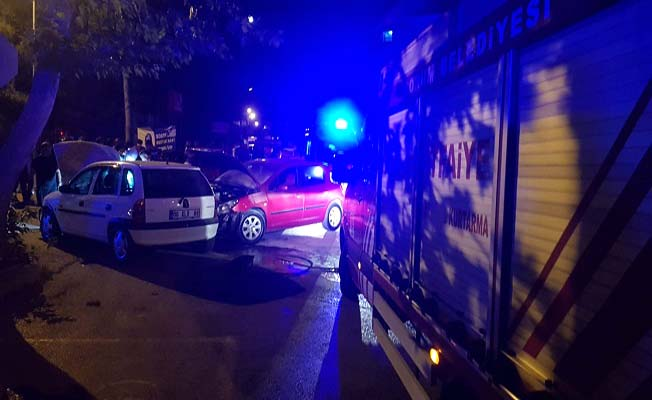Şenyurt Caddesi'nde kaza