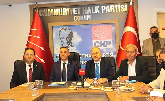 CHP Çorum için yine iddialı konuştu