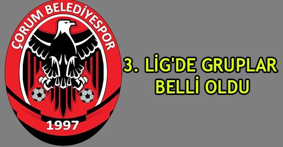 3. Lig'de gruplar belli oldu