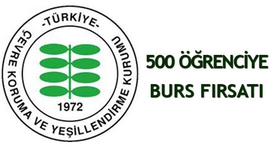 500 öğrenciye burs fırsatı