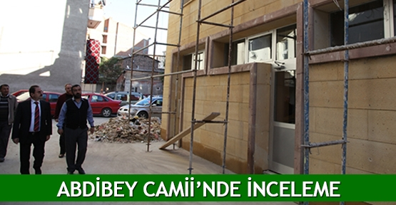 Abdibey Camii'nde inceleme