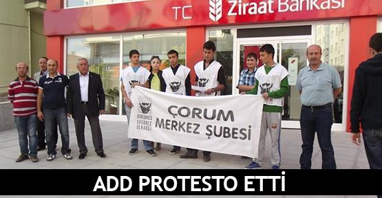 ADD protesto etti