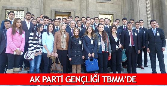 AK Parti gençliği TBMM'de
