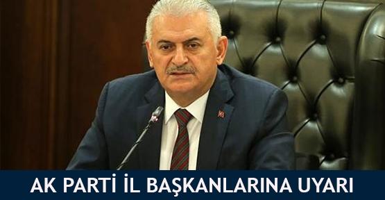 AK Parti il başkanlarına uyarı