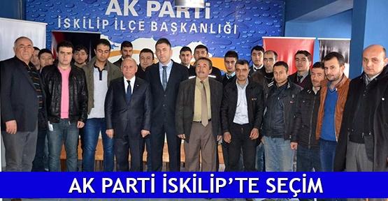 AK Parti İskilip'te seçim