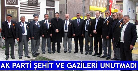 AK Parti şehit ve gazileri unutmadı