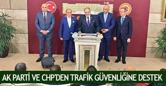 AK Parti ve CHP'den trafik güvenliğine destek