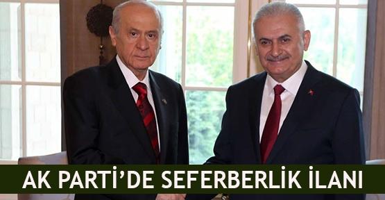 AK Parti'de seferberlik ilanı