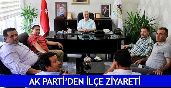 AK Parti'den ilçe ziyareti