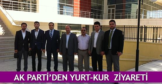 AK Parti'den YURT-KUR  ziyareti