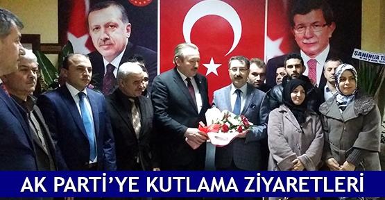 AK Parti'ye kutlama ziyaretleri