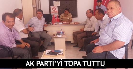 AK Parti'yi topa tuttuAK Parti'yi topa tuttu