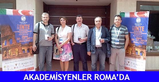 Akademisyenler Roma'da