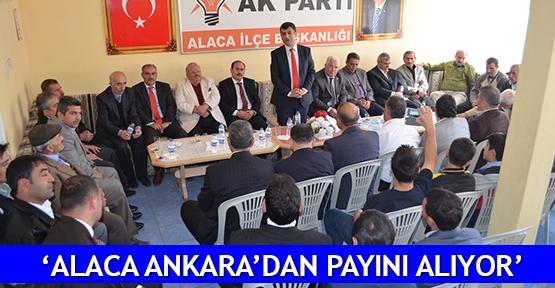 'Alaca Ankara'dan payını alıyor'