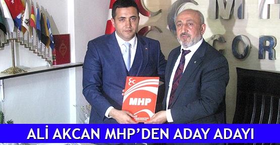 Ali Akcan MHP'den aday adayı
