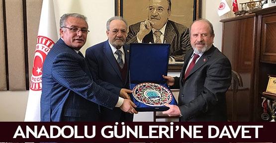 Anadolu Günleri'ne davet