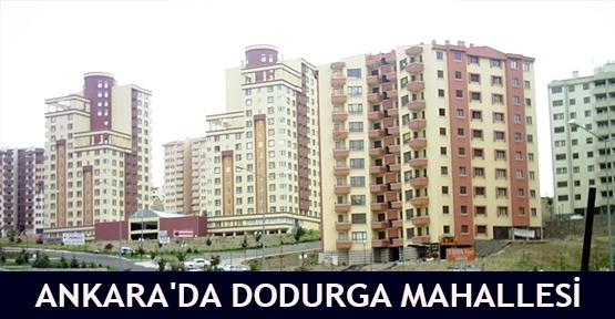 Ankara'da Dodurga mahallesi