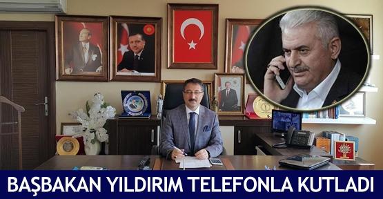 Başbakan Yıldırım telefonla kutladı