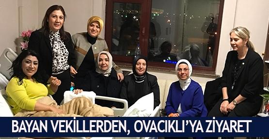 Bayan vekillerden Ovacıklı'ya ziyaret