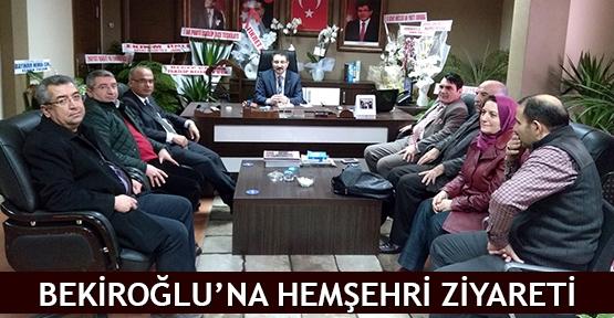 Bekiroğlu'na hemşehri ziyareti