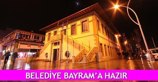 Belediye Bayram'a hazır