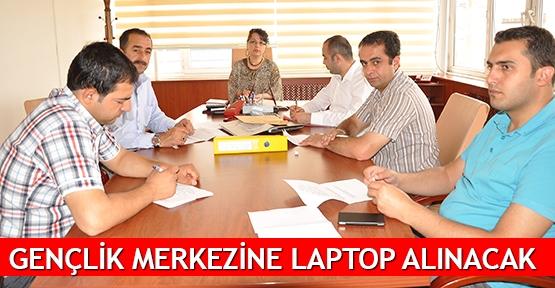 Belediye Gençlik merkezine laptop alacak