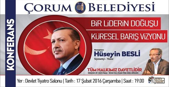 Belediye'den 'Bir Liderin Doğuşu' konferansı