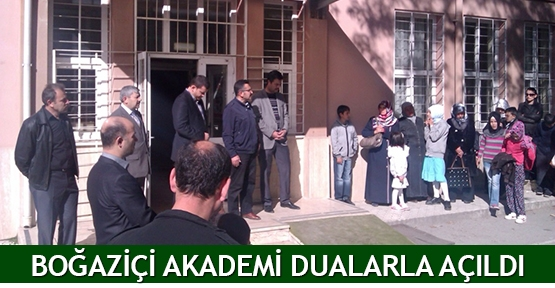 Boğaziçi Akademi dualarla açıldı