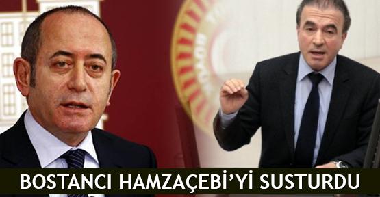 Bostancı Hamzaçebi'yi susturdu
