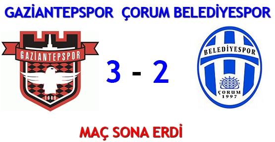 Çorum Belediyespor Gaziantepspor