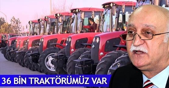 Çorum'da 36 bin traktör var